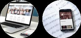 voorbeelden websites by ILUZIE