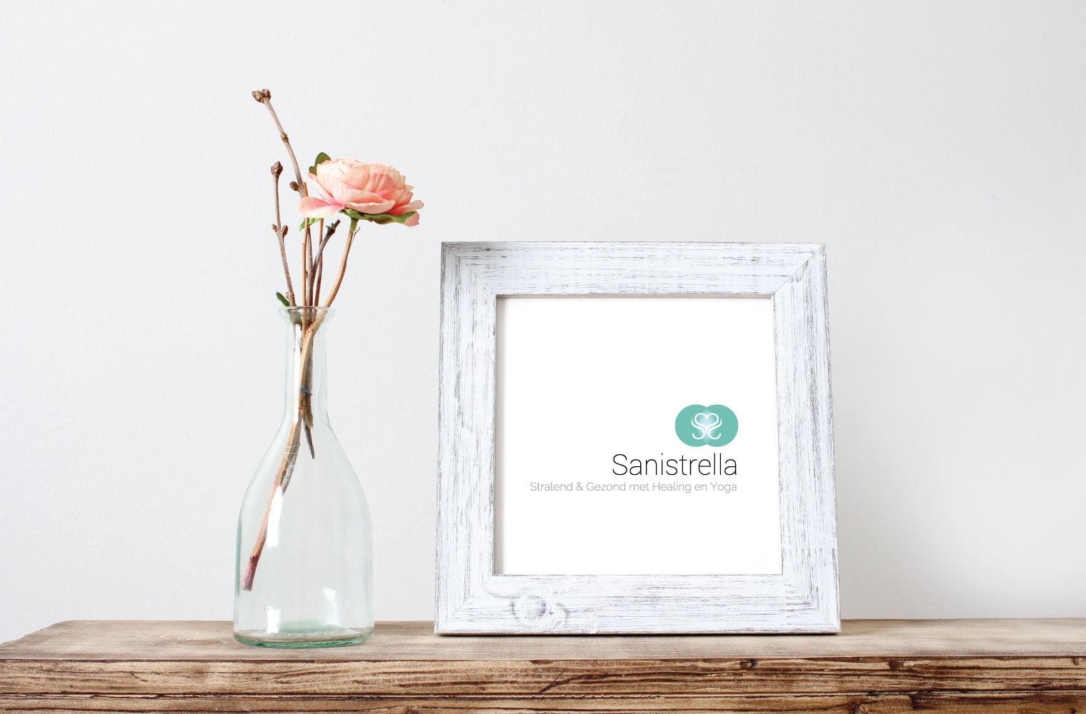 Logo Sanistrella in lijstje