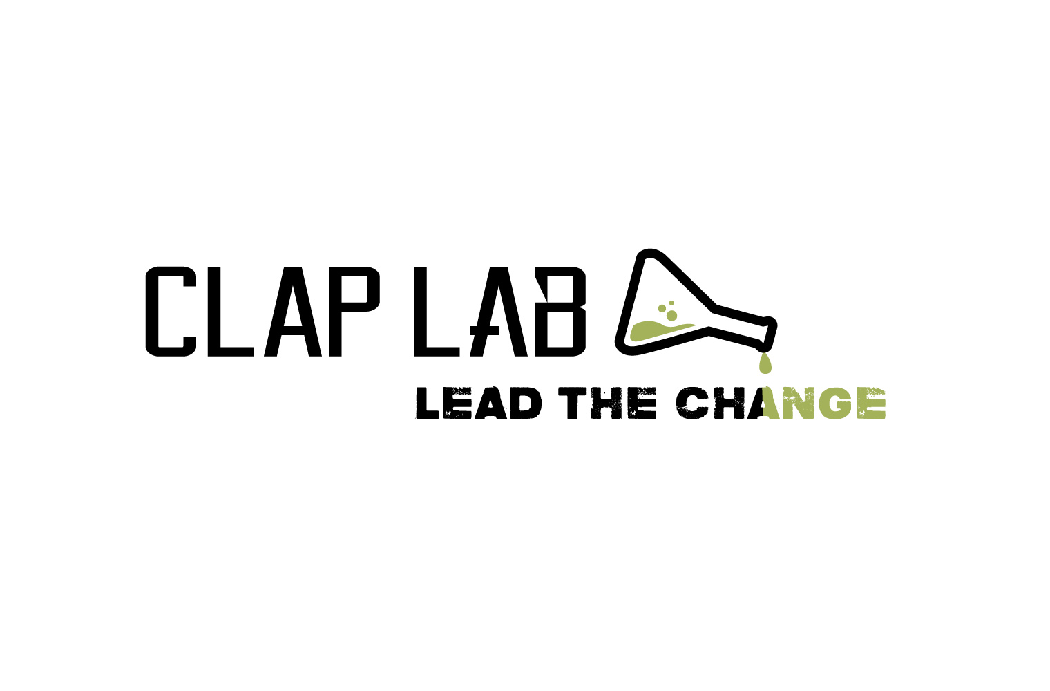 Logo CLAP Lab! - Lead The Change (green)