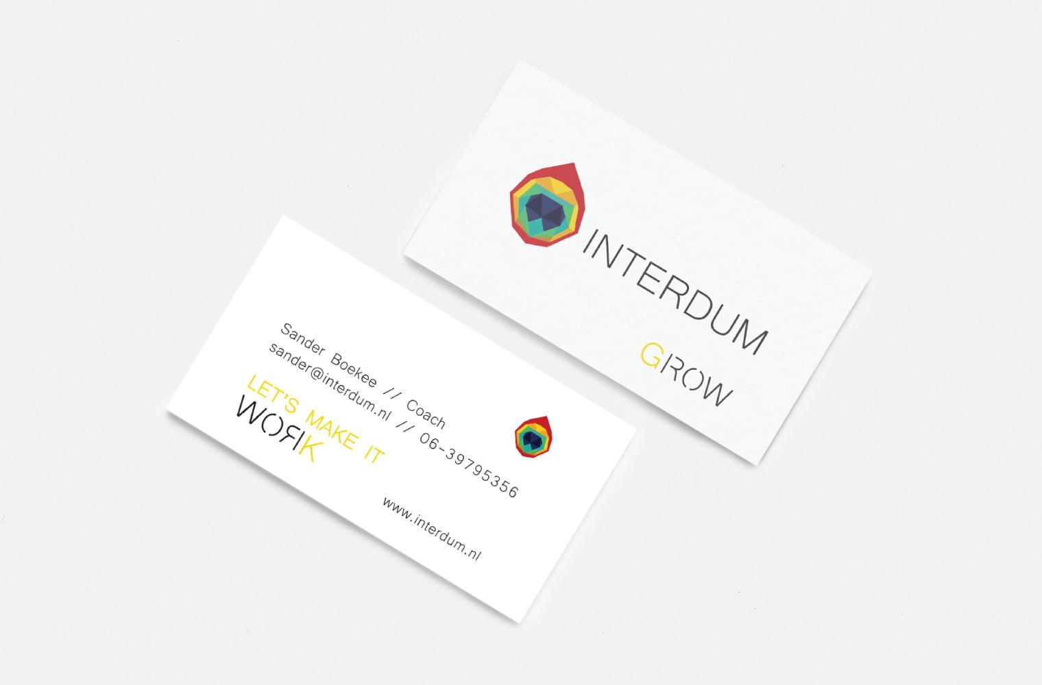 Visitekaartje Interdum