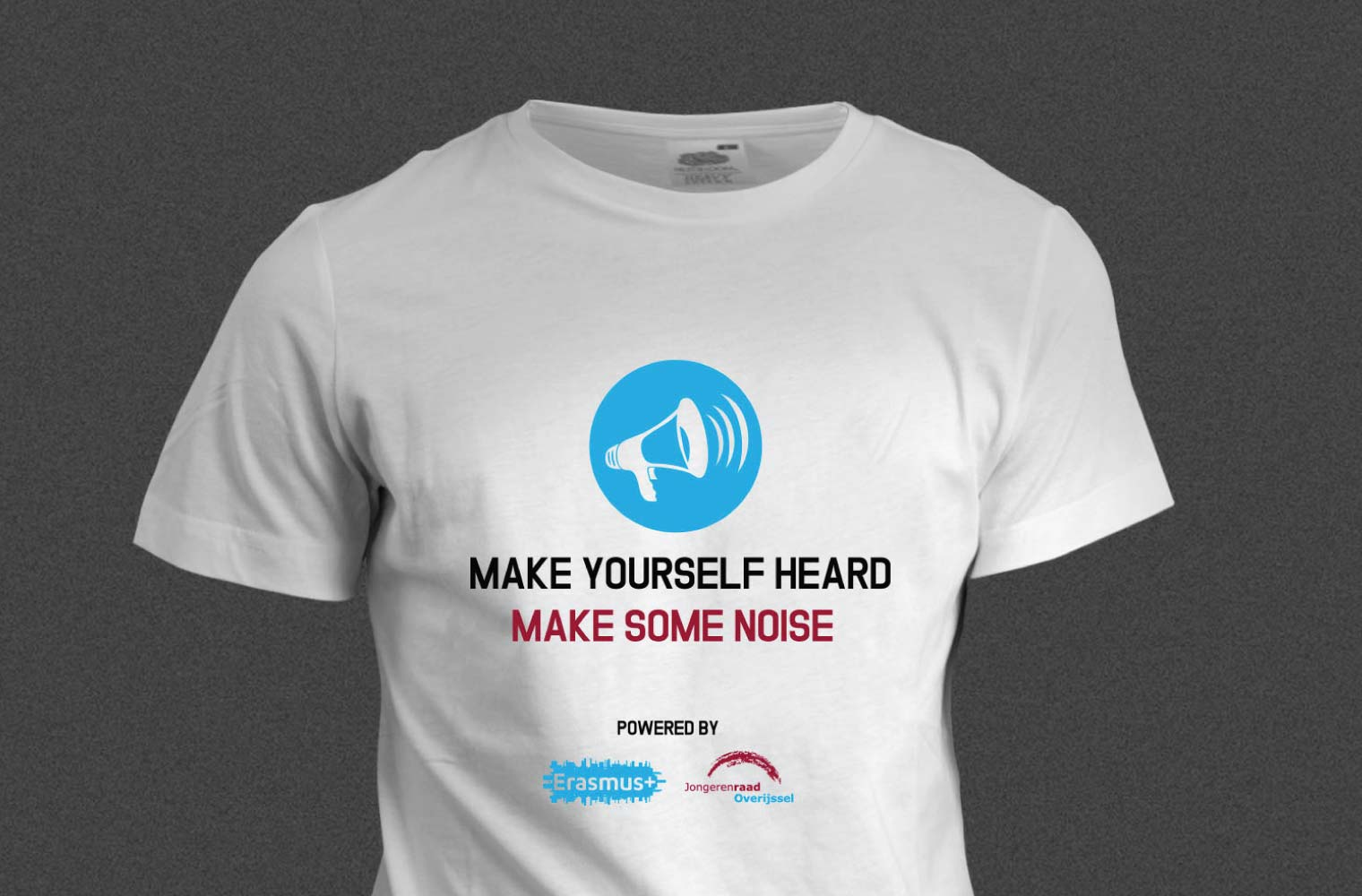 T-shirt Make Yourself Heard - front