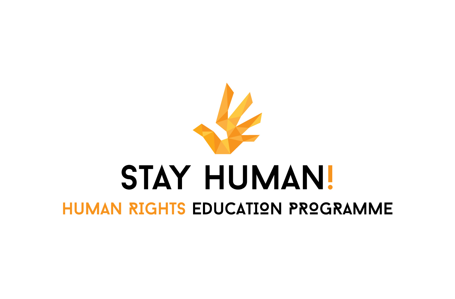 Logo Stay Human!