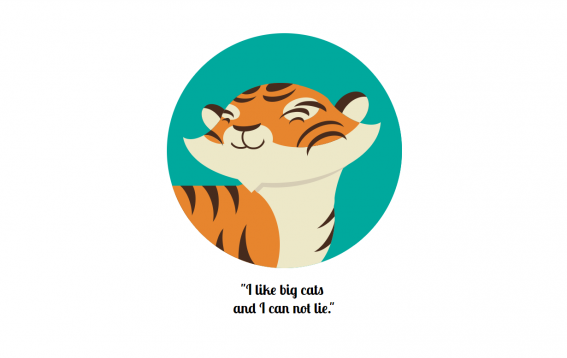 Daily CSS Images - Day #4 - Tiger