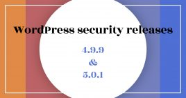 WordPress security releases 4.9.9 en 5.0.1 - ILUZIE blog